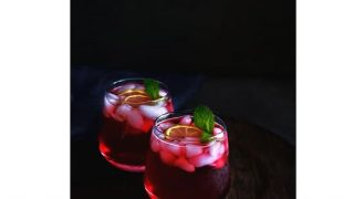 Hibiscus Gin Fizz Recipe (Using Steviva) #KetoRecipe