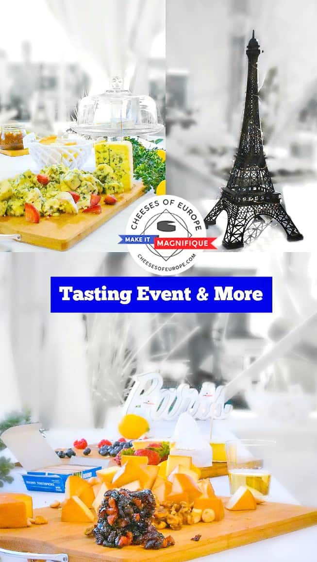 Fine Cheese Tasting and Tennis - Cheese of Europe Event: #cheese #event #cheeseofeurope #ad