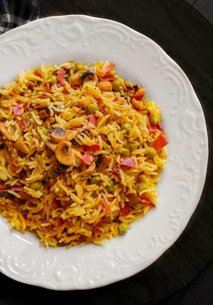 mushroom curry rice recipe