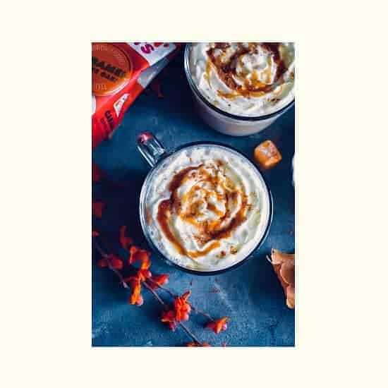 Spiced Caramel Coffee Latte Recipe