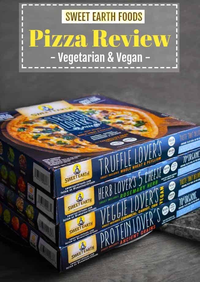 Sweet Earth Foods Pizza Review: #pizza #vegetarian #mushroom