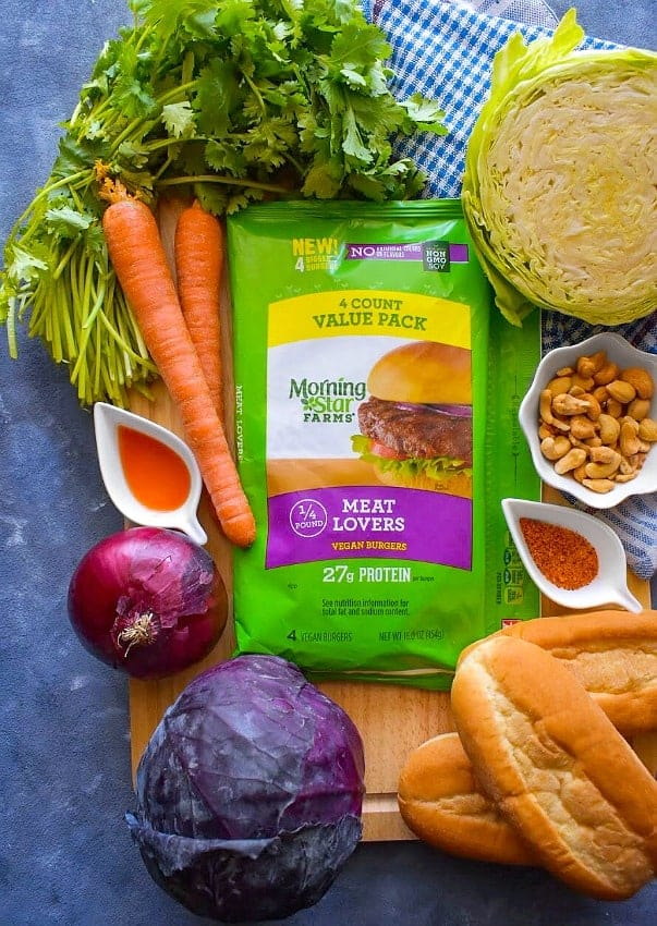 vegan-po-boy-sandwich-ingredients