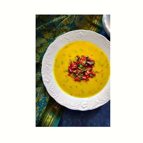 Instant Pot Dal Recipe (Indian Lentil) Dal Tadka