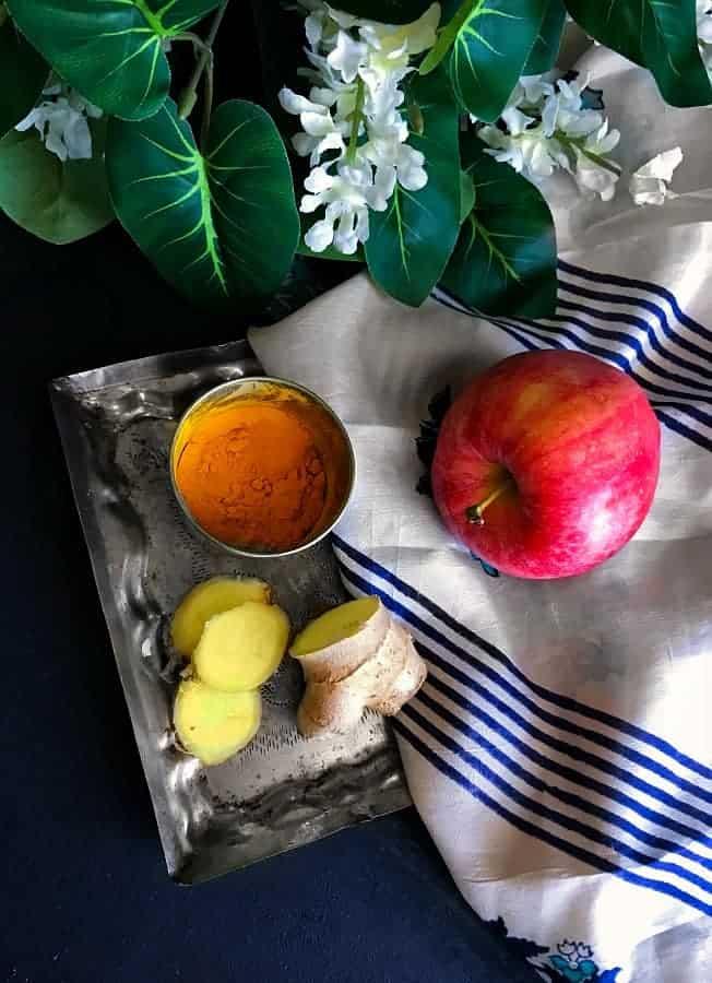 apple-turmeric-ginger-smoothie-ingredients