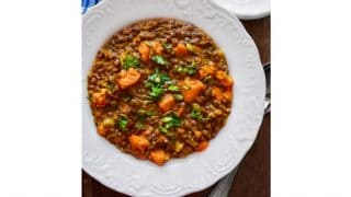 Lentil and Butternut Squash Curry Recipe (Vegan Recipe) #butternut