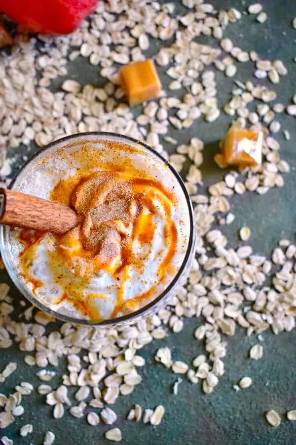 Caramel Apple Pie Smoothie Recipe