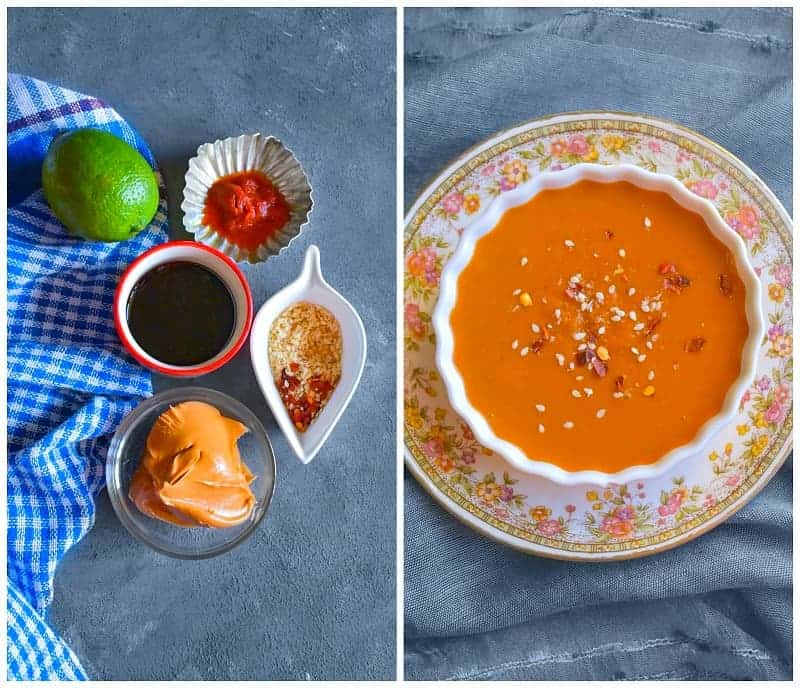 how to make thai peanut sauce