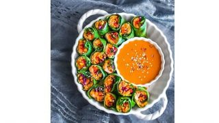 Thai Vegetable Tuna Rolls