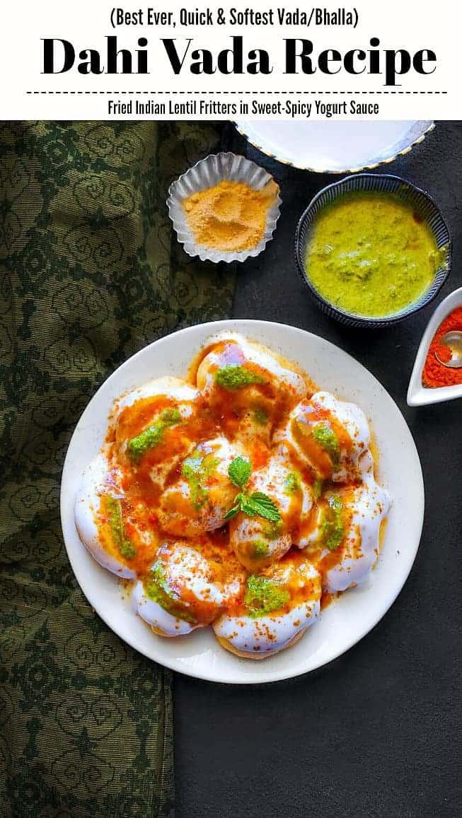 Best Dahi Vada Recipe: Dahi Vada Recipe - #dahivada #indianfood #diwali #diwalisnacks #dahibhalle #vada