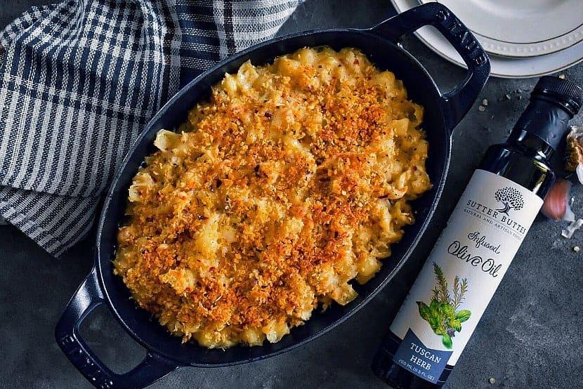 skinny cauliflower pasta bake
