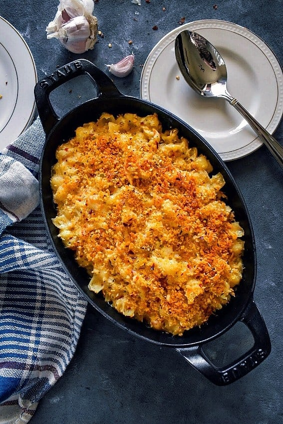 quick-cauliflower-pasta-bake