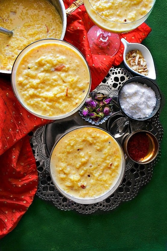 Instant pot kheer recipe