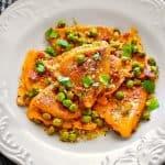 Instant-pot-spicy-pumpkin-ravioli-wine-sauce