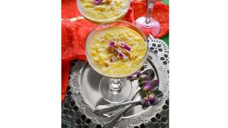 Instant-Pot Kheer Recipe (Indian Rice Pudding) #holidessert