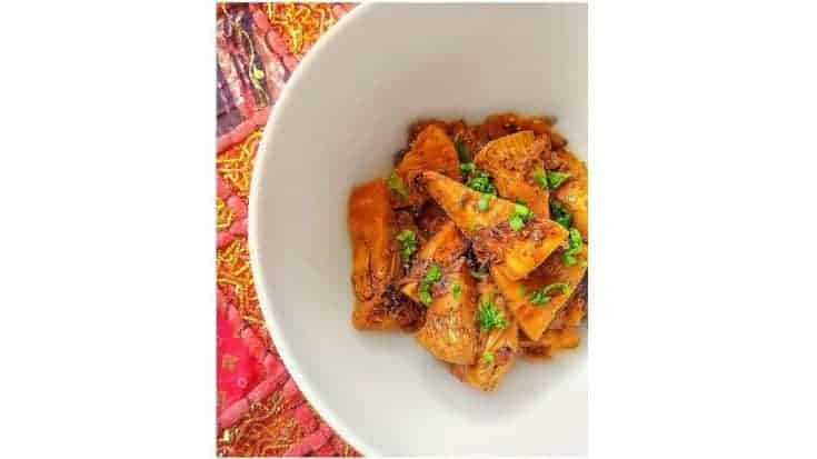 Kathal Sabzi (Indian Jackfruit Recipe)