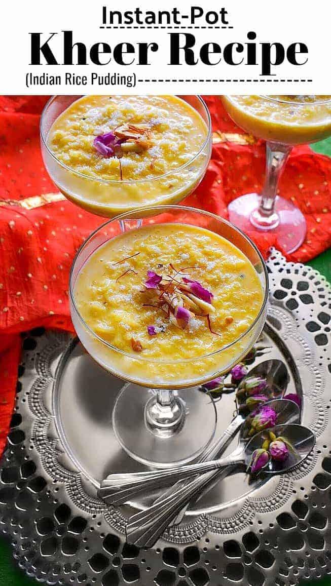 Instant Pot Kheer Recipe: #kheer #diwalisweets #diwali #indiandessert #mithai