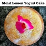 moist lemon yogurt cake recipe