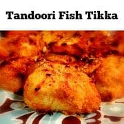 tandoori fish tikka recipe