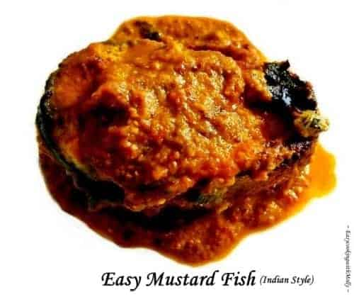 Bengali Mustard Fish (Indian Style)