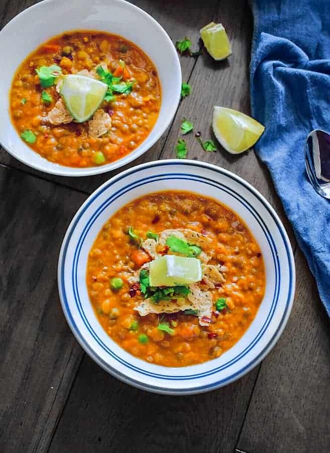 best lentil quinoa curry