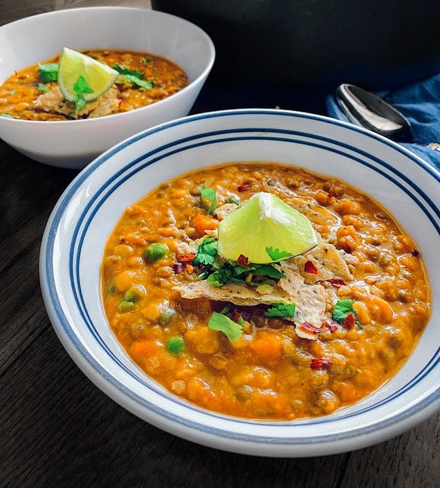 curried lentil quinoa chili recipe