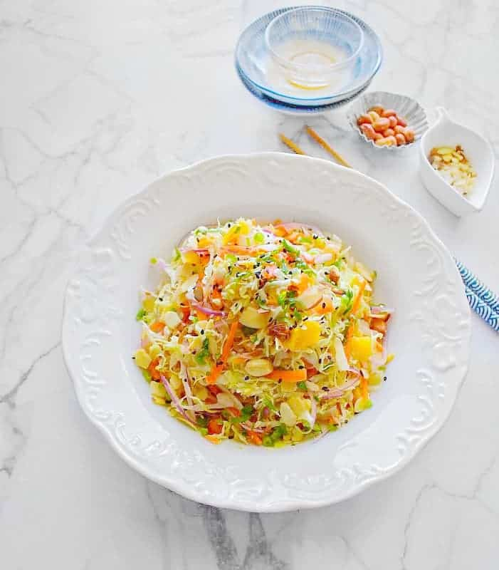 Warm Detox Chinese Cabbage Salad
