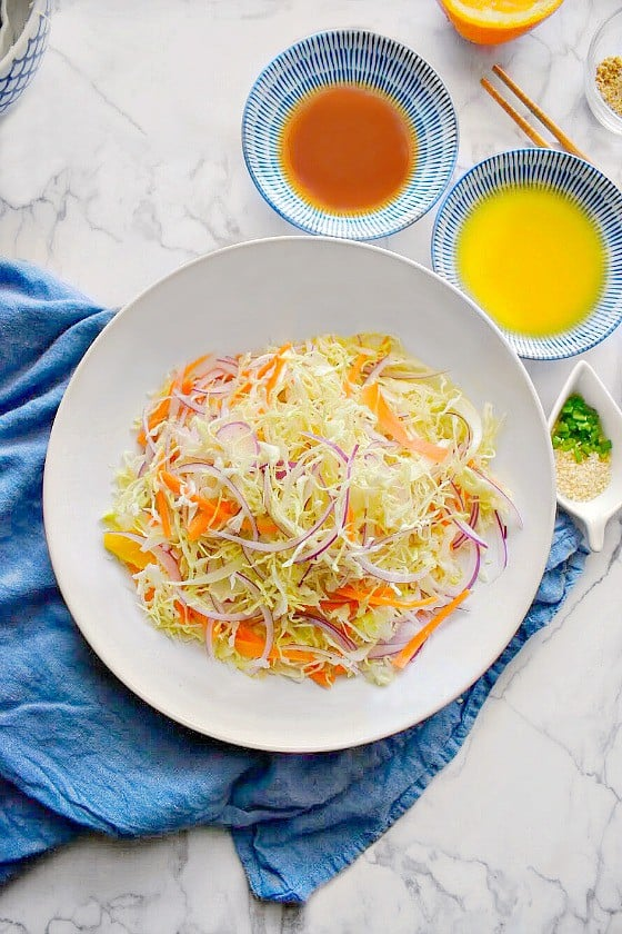 how to make chinese cabbage salad