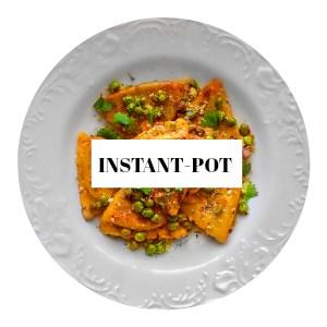 INSTANT POT RECIPES recipe index
