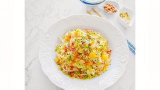Warm Detox Chinese Cabbage Salad #detox #chinesecabbage