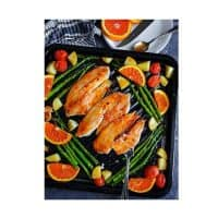 Sheet Pan Orange Ginger Tilapia