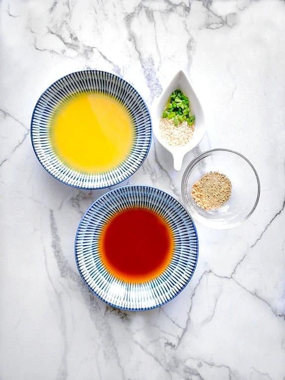 sesame ginger salad dressing ingredients
