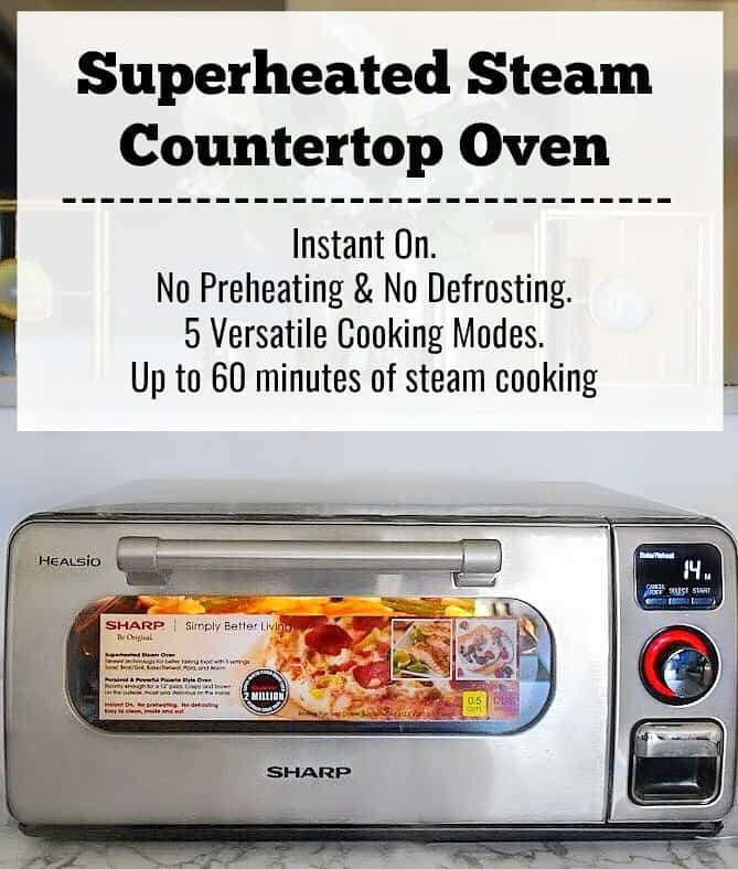 Details of Superheated Steam Countertop Oven.