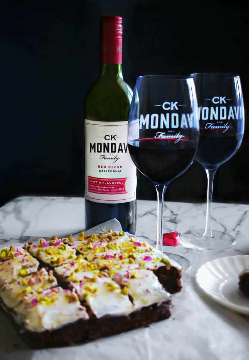 C K Mondavi red wines