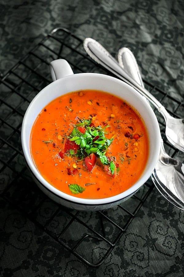 instant pot crab tomato chowder