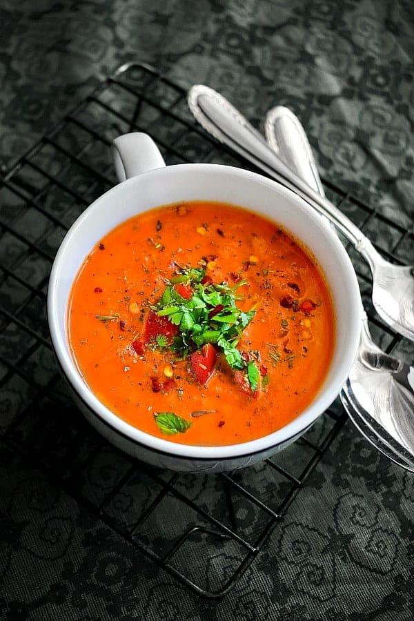 instant pot crab tomato chowder