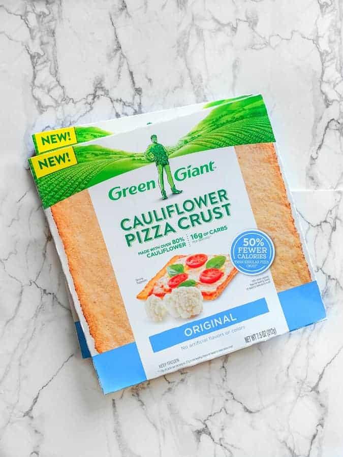 green giant cauliflower pizza crust