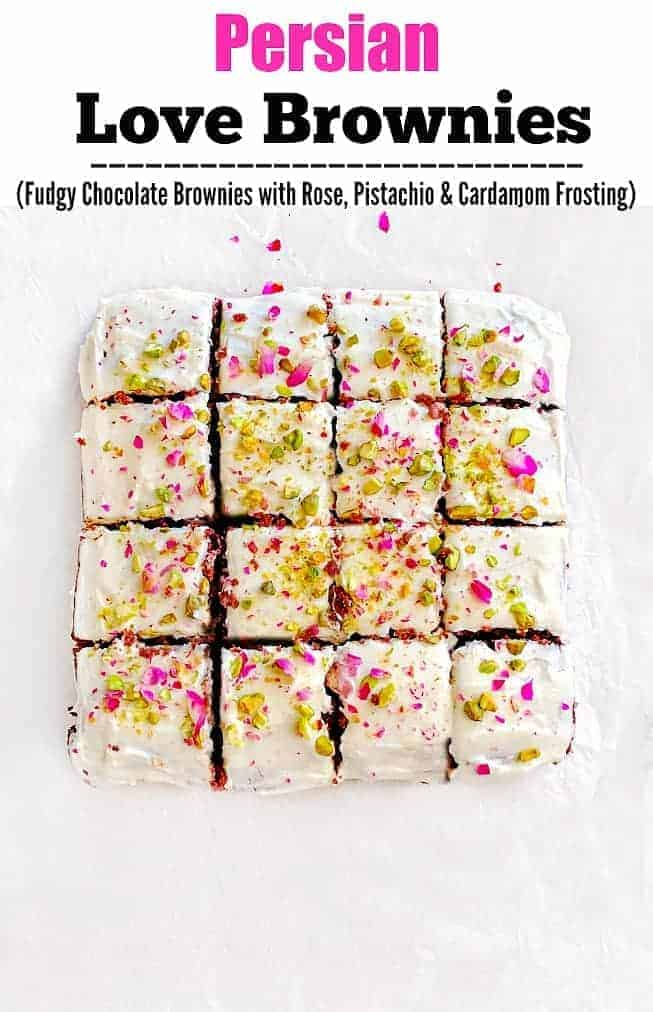 Persian Love Brownies