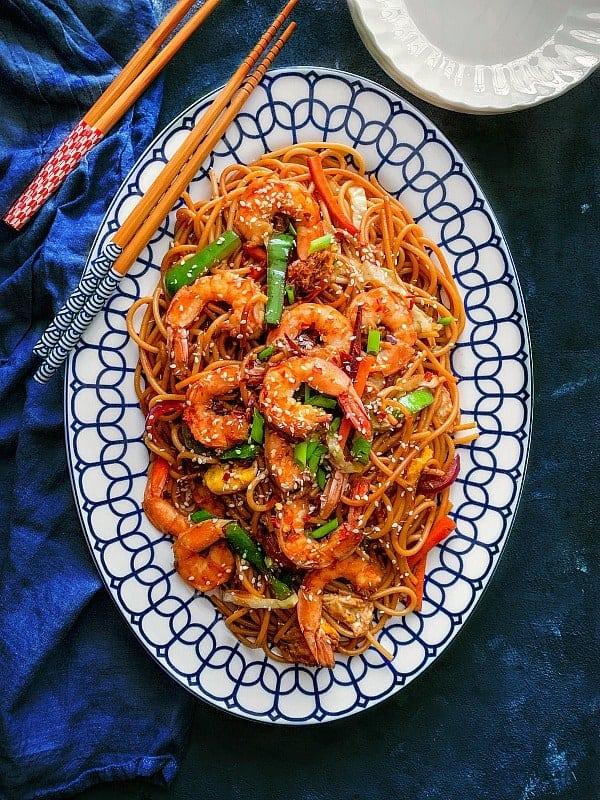 restaurant shrimp chow mein recipe