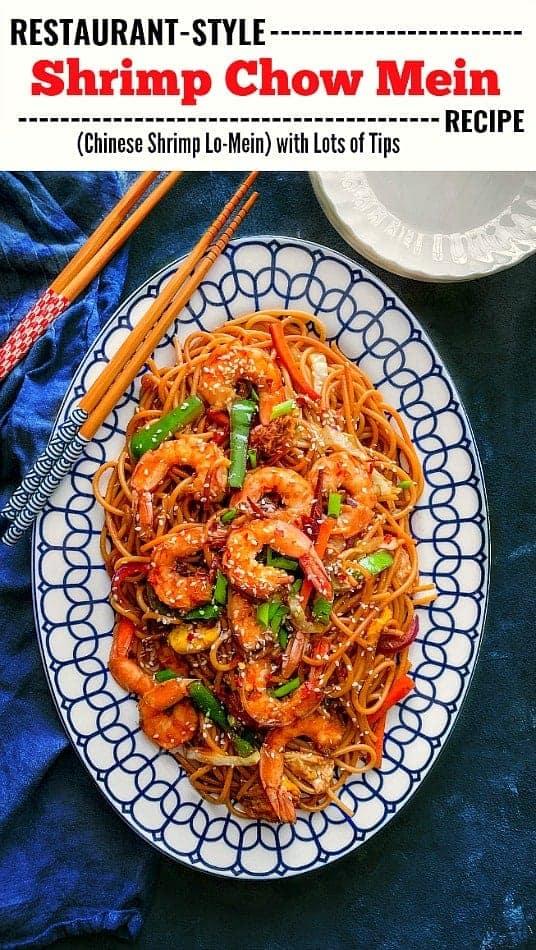 Restaurant Shrimp Chow Mein Recipe: #chowmein #shrimp #lomein #chinesefood