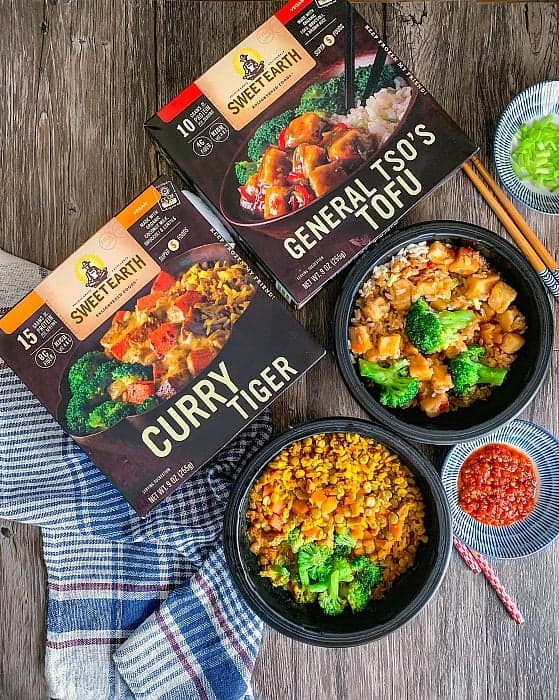Sweet Earth Bowls Review for General Tso & Curry Tiger