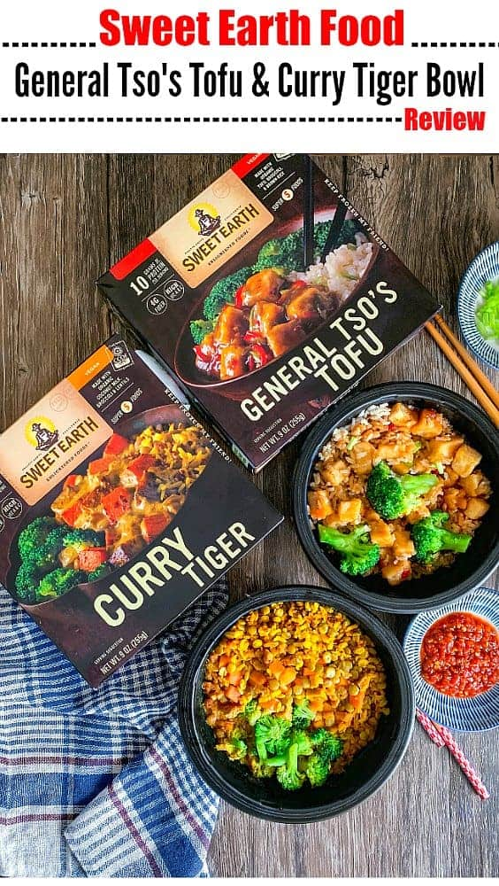 Sweet Earth Bowls Review for General Tso & Curry Tiger: #sweetearth #veganfood #ad #SweetEarth #ConsciousbyChoice @sweetearthfoods