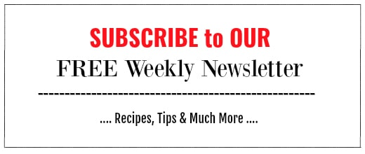 weekly newsletter for easycookingwithmolly