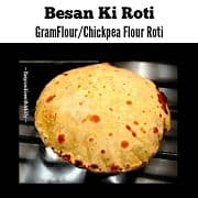 Besan Roti Recipe