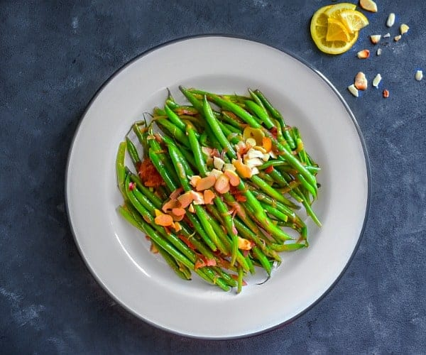 best green beans almond recipe