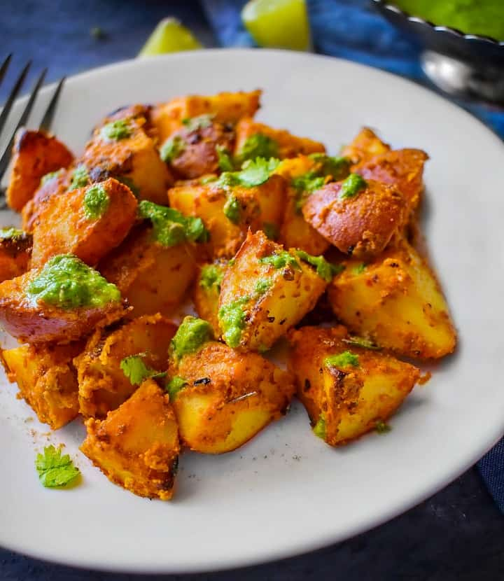 tandoori aloo potatoes recipe