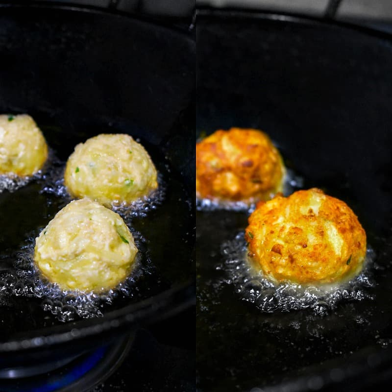 how to make lauki paneer kofta