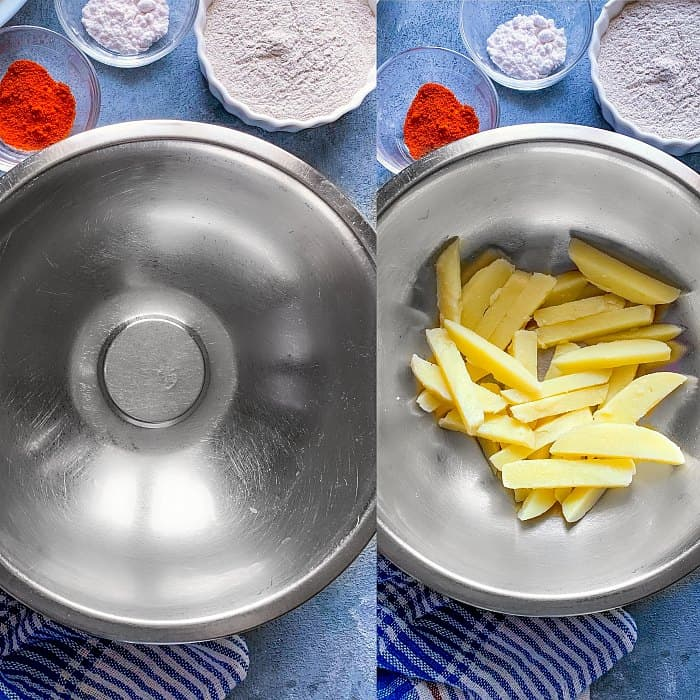 prep work for air fryer fries