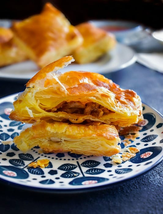 Indian Chicken curry Puff Recipe