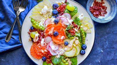 Summer Harvest Salad - Quick & Glutenfree Recipe - Quick & Glutenfree Recipe