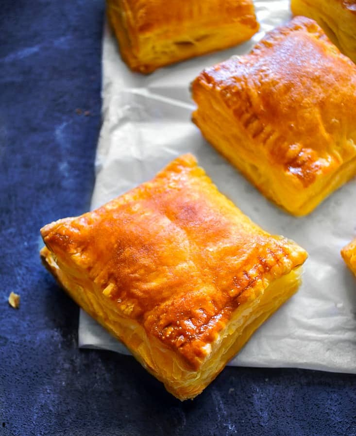 how to make indian chicken puff recipe